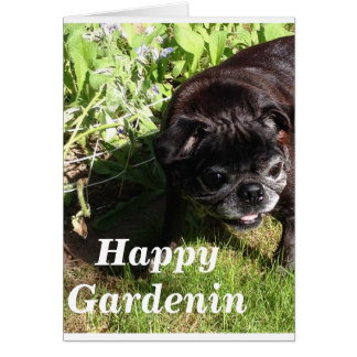 Happy Gardenin Card