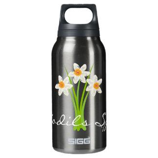 Happy Gardening Daffodils Spring Gardener Bottle