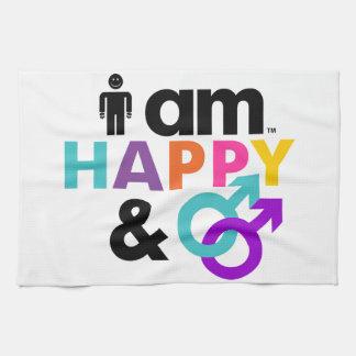 Happy Gay and Okay LBGT Towel