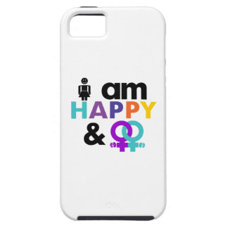 Happy Gay and Okay LGBT iPhone 5 Cases