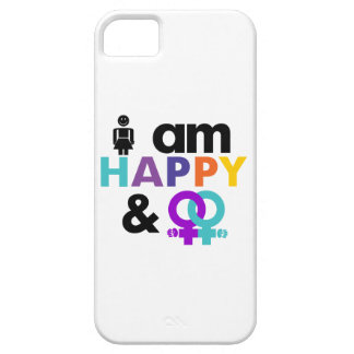 Happy Gay and Okay LGBT iPhone 5 Cover