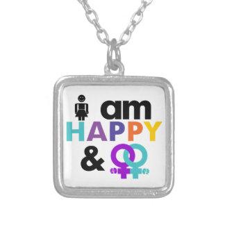 Happy Gay and Okay LGBT Custom Jewelry