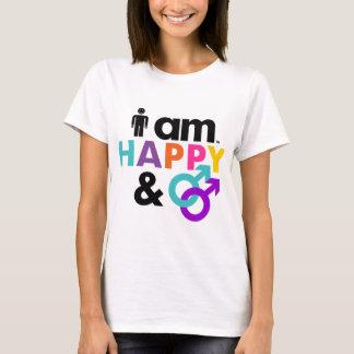 Happy Gay and Okay LGBT T-Shirt