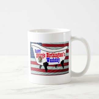 Happy George Birthington's Washday Mugs