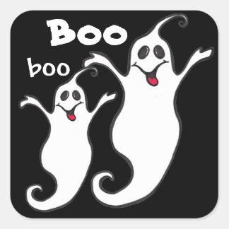 Happy Ghost - Boo, boo - Halloween Sticker