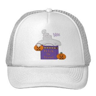 Happy Ghost Cap Trucker Hat