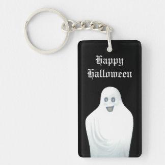 Happy Ghost Halloween Keychain