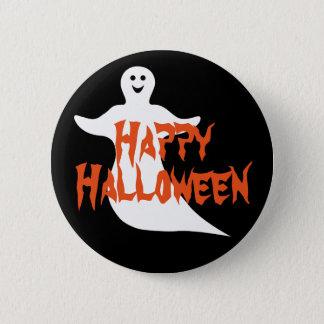 Happy Ghost Happy Halloween Pinback Button