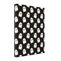 Happy Ghosts Canvas Print