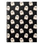 Happy Ghosts Spiral Notebook