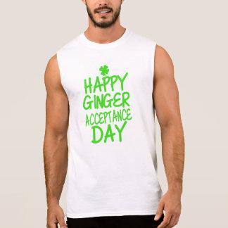 Happy Ginger Acceptance Day Sleeveless Shirt
