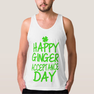 Happy Ginger Acceptance Day Tank Top