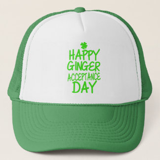 Happy Ginger Acceptance Day Trucker Hat
