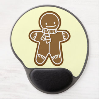 Happy Gingerbread man Gel Mouse Pad