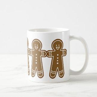 Happy Gingerbread Tall man Coffee Mug