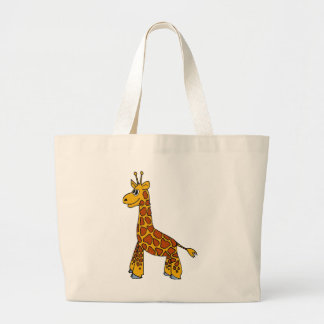 Happy Giraffe Tote Bags