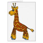 Happy Giraffe Card