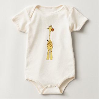 Happy Giraffe. Cartoon Creeper