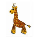 Happy Giraffe Post Cards