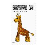 Happy Giraffe Stamps