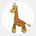 Happy Giraffe Stickers