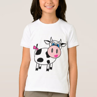 Happy Girl Cow T-Shirt