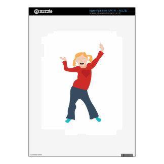 Happy Girl iPad 3 Decal
