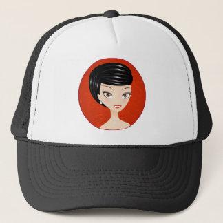 Happy Girl Trucker Hat