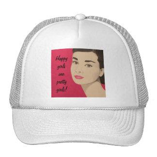 Happy Girls Are Pretty Girls: Cap Trucker Hat