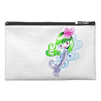 Happy Girly Mermaid Travel Accessory Bag