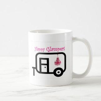 Happy Glamper! Classic White Coffee Mug