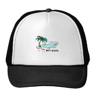 HAPPY GLAMPER TRUCKER HAT