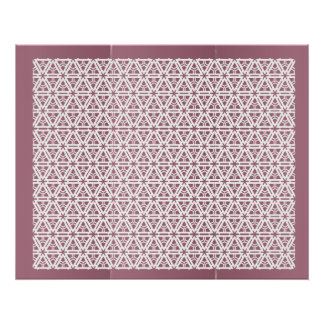 Happy Glory Patterns -  Enjoy and Share the Joy Poster