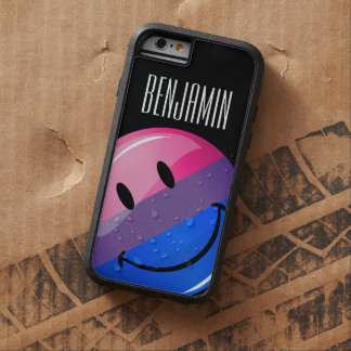 Happy Glossy Bisexuality Pride Flag Tough Xtreme iPhone 6 Case