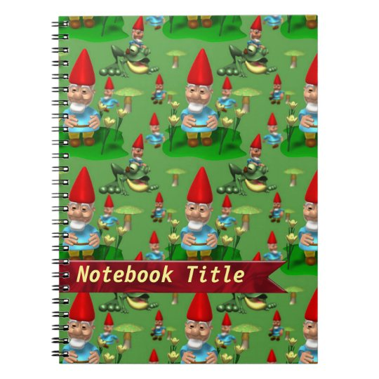 Happy Gnomes Journal Notebook