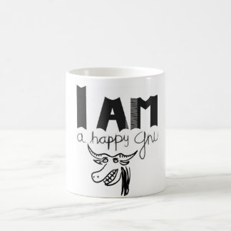 Happy Gnu Coffee Mug