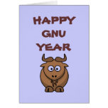 Happy Gnu Year Card