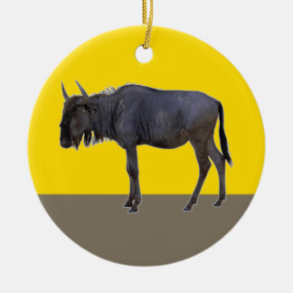 Happy GNU Year Ceramic Ornament