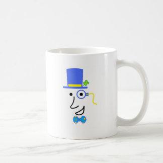 Happy Go Lucky Classic White Coffee Mug