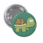 Happy Go Lucky Turtle button