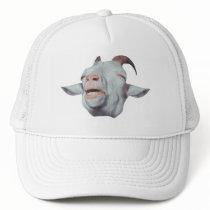 Happy Goat is Faded Trucker Hat