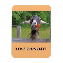 Happy Goat Magnet