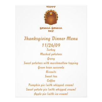 Happy Gobble-Gobble day Flyer
