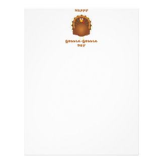 Happy Gobble-Gobble day Letterhead