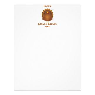 Happy Gobble-Gobble day Letterhead