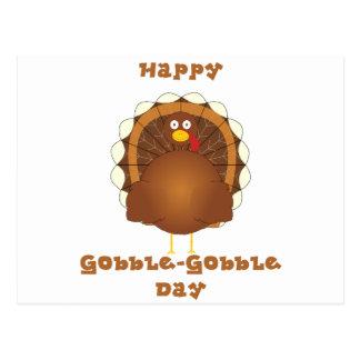 Happy Gobble-Gobble day Postcard