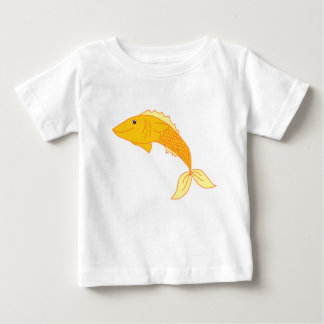 Happy Goldfish Baby T-Shirt