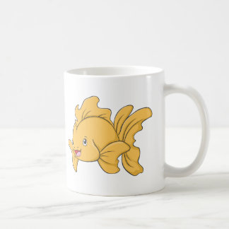Happy Goldfish Coffee Mug