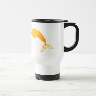 Happy Goldfish Travel Mug