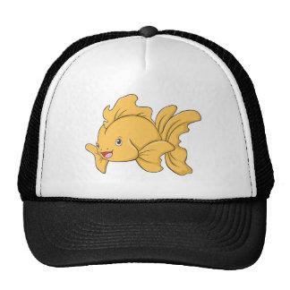 Happy Goldfish Trucker Hat